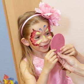 Проведнение дня рождения девочки в детском саду