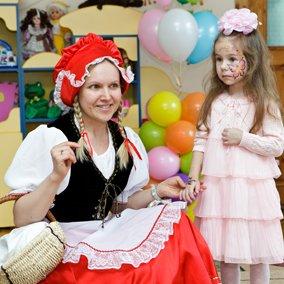 день рождения девочки с аниматором Красная Шапочка