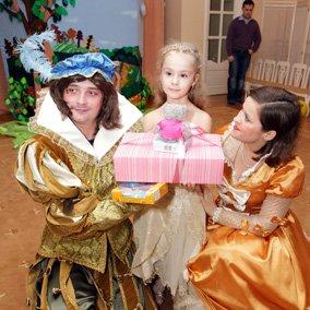 Праздник для девочки с Золушкой