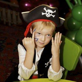 пиратский день рождения мальчика в ресторане