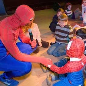 человек паук на дне рождении мальчика 6 лет