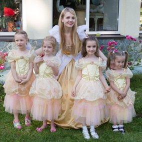 организация дня рождения девочки 6 лет в стиле Золушка