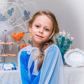День рождения девочки 6 лет в стиле холодное сердце