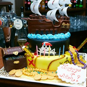 Пиратский день рождения мальчика 7 лет