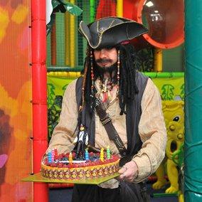 Джек Воробей на день рождения